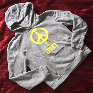 AE peace and quiet preloved hoodie. Size medium